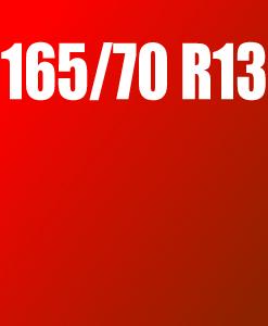 Pneu 165/70 R13