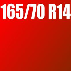 Pneu 165/70 R14