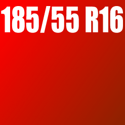 Pneu 185/55 R16