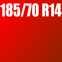 Pneu 185/70 R14