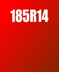 Pneu 185R14