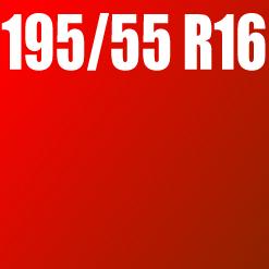 Pneu 195/55 R16