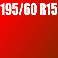 Pneu 195/60 R15