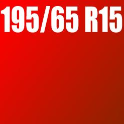 Pneu 195/65 R15