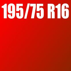 Pneu 195/75 R16