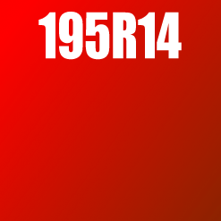 Pneu 195R14