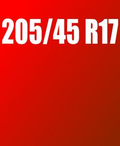 Pneu 205/45 R17