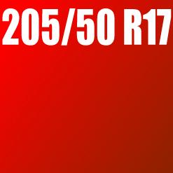 Pneu 205/50 R17