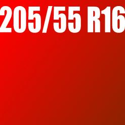 Pneu 205/55 R16