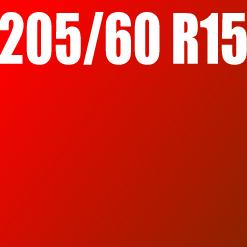 Pneu 205/60 R15