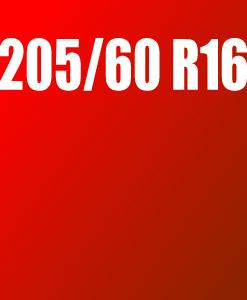 Pneu 205/60 R16