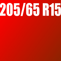 Pneu 205/65 R15