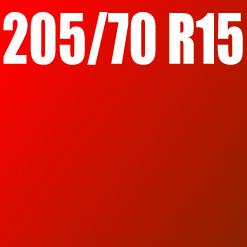 Pneu 205/70 R15