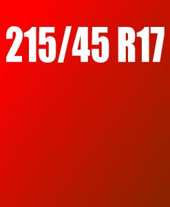 Pneu 215/45 R17