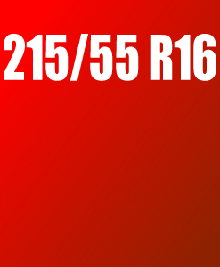 Pneu 215/55 R16
