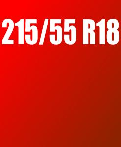 Pneu 215/55 R18