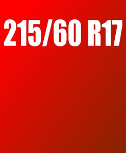 Pneu 215/60 R17