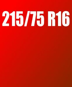 Pneu 215/75 R16