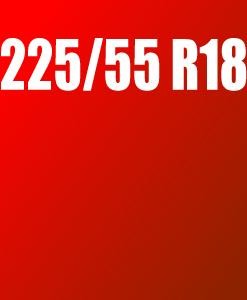 Pneu 225/55 R18
