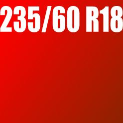 Pneu 235/60 R18