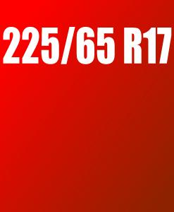 Pneu 225/65 R17