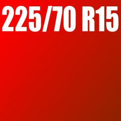 Pneu 225/70 R15