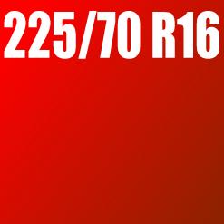 Pneu 225/70 R16