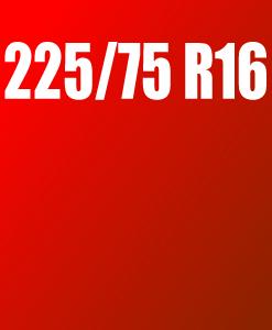 Pneu 225/75 R16
