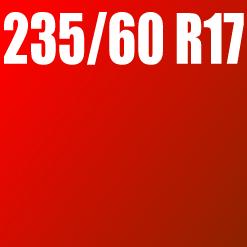 Pneu 235/60 R17