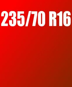 Pneu 235/70 R16