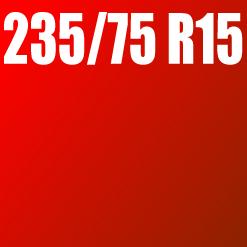Pneu 235/75 R15