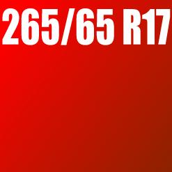 Pneu 265/65 R17
