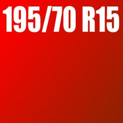 Pneu 195/70 R15