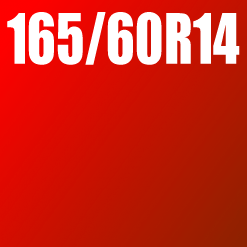 Pneu 165/60 R14