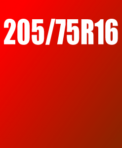 Pneu 205/75 R16