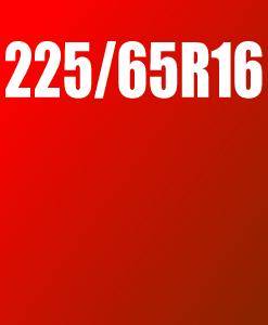 Pneu 225/65 R16