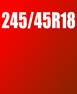 Pneu 245/45 R18