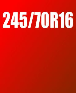 Pneu 245/70 R16