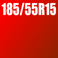 Pneu 185/55 R15