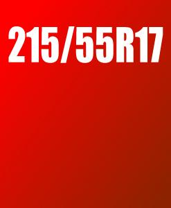 Pneu 215/55 R17