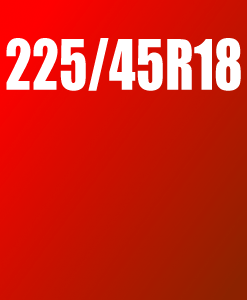 Pneu 225/45 R18