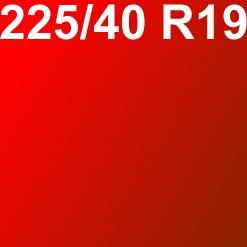Pneu 225/40R19