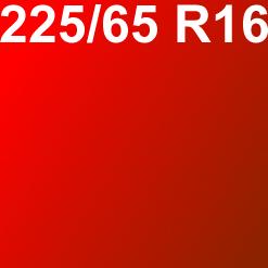 Pneu 225/65R16