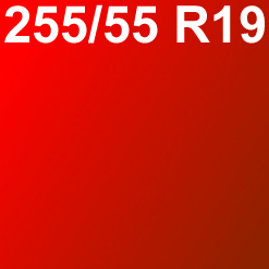 Pneu 255/55 R19