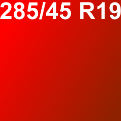 Pneu 285/45R19